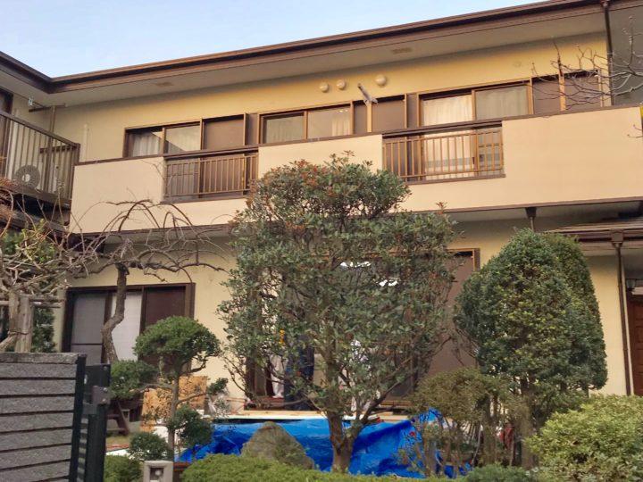 藤沢市 N様邸 付帯部分塗装、サッシ廻塗装工事
