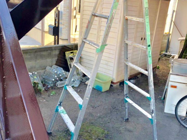 大和市 N様邸 鉄骨階段塗装工事