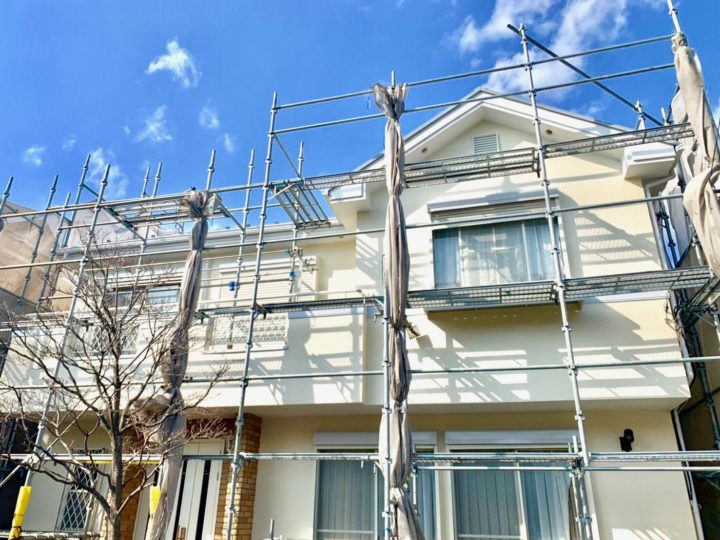 大和市 H様邸 屋根・外壁塗装工事