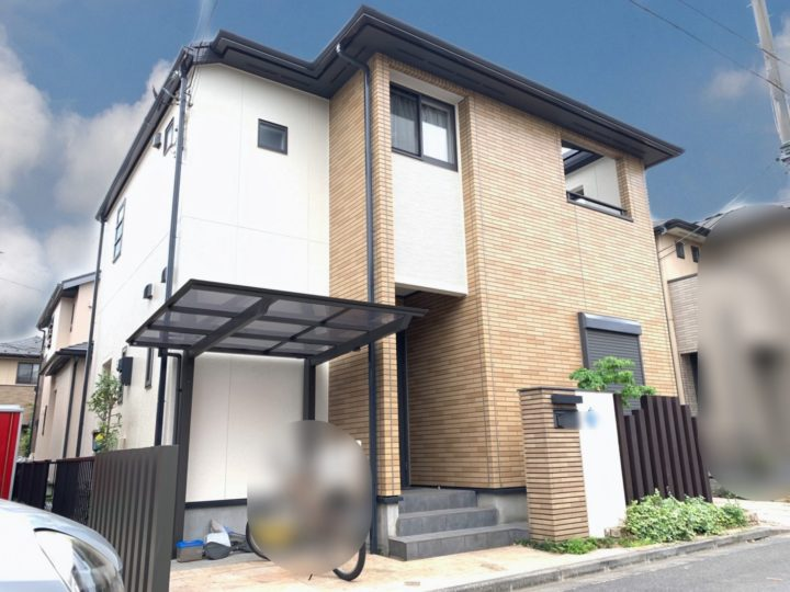 新座市 Y様邸 屋根・外壁塗装工事