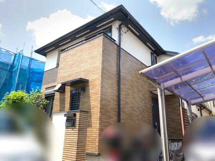 新座市 屋根・外壁塗装工事
