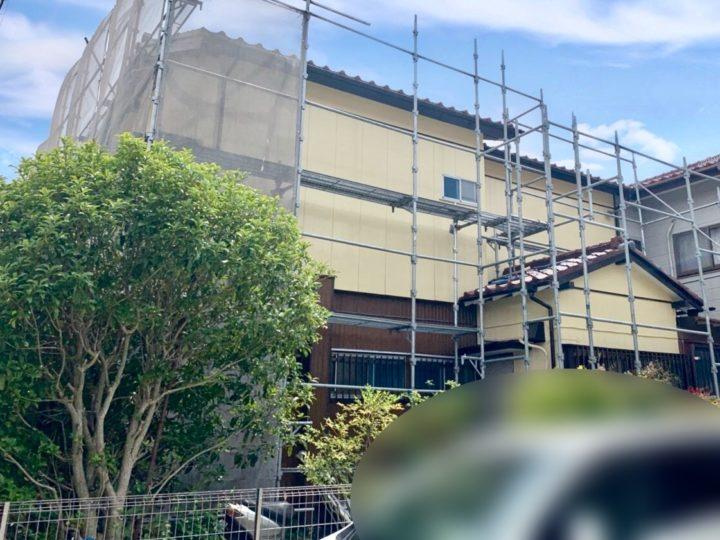 中郡二宮町 M様邸 外壁塗装工事
