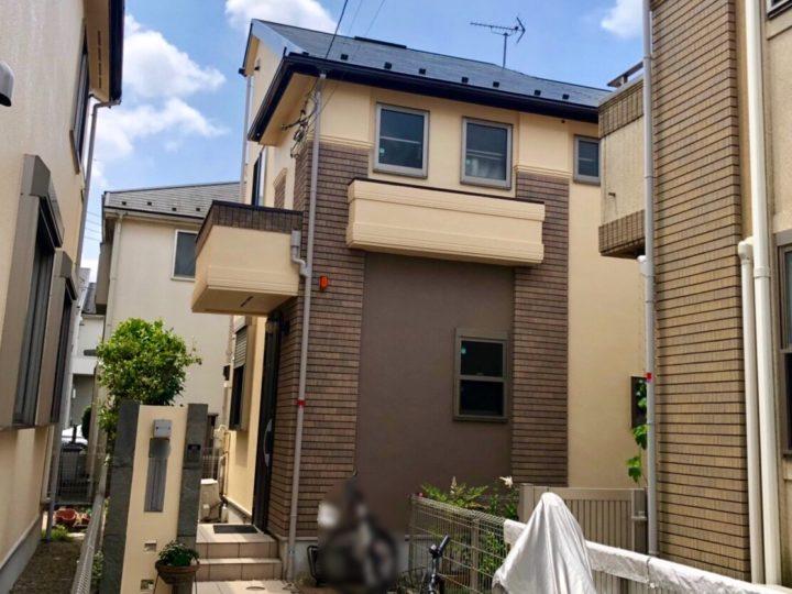 西東京市 H様邸 屋根・外壁塗装工事