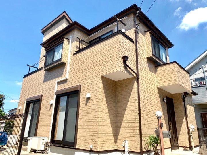 西東京市 屋根・外壁塗装工事