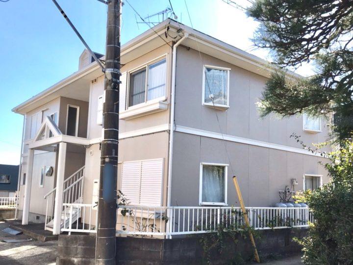 秦野市 S様 アパート屋根・外壁塗装工事
