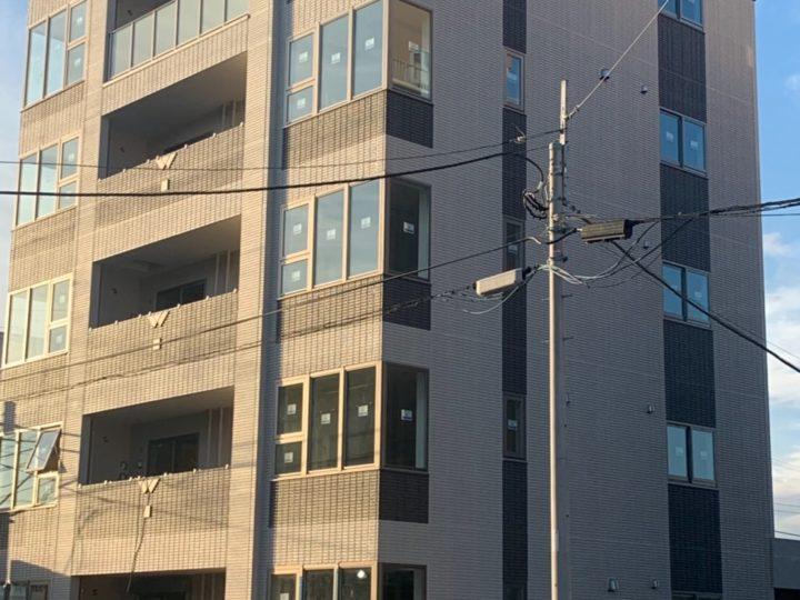 厚木市 新築マンション 外壁塗装工事