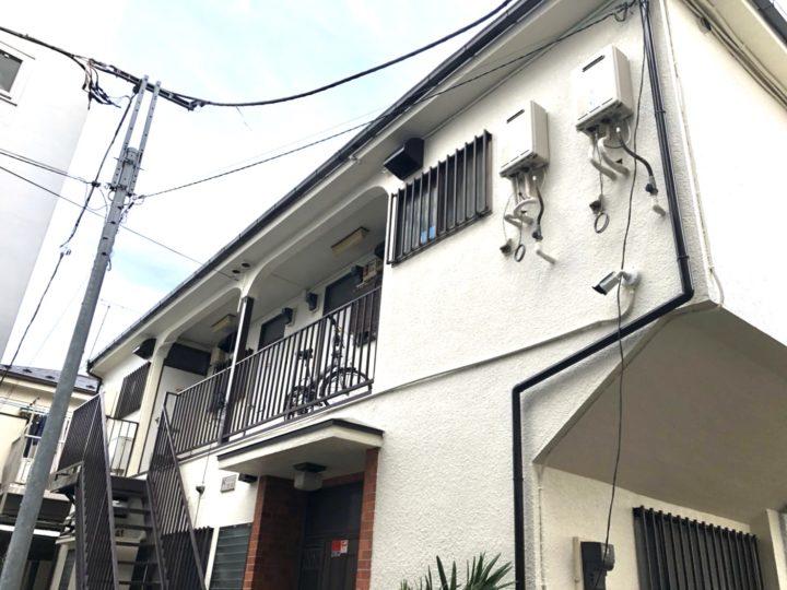 武蔵野市 アパート 外装改修工事
