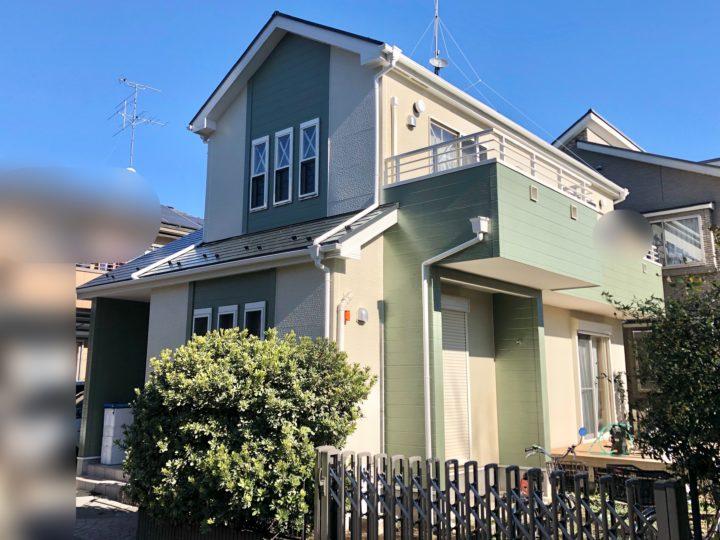 小平市 E様邸 屋根・外壁塗装工事