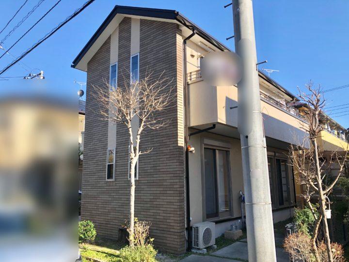 小平市 S様邸 屋根・外壁塗装・防水工事
