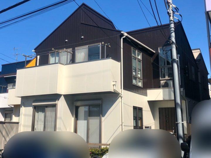 小金井市 U様邸 屋根・外壁塗装工事