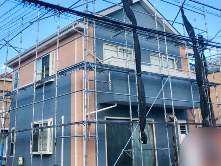 茅ヶ崎市 I様邸 外壁塗装工事