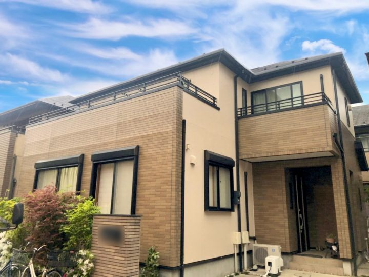江東区 I様邸 屋根・外壁塗装工事
