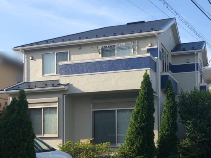 綾瀬市 I様邸 屋根・外壁塗装工事