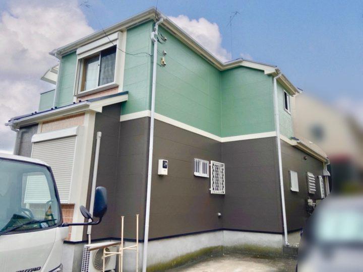 厚木市 I様邸 屋根・外壁塗装工事