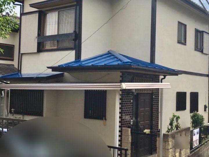 藤沢市 S様邸 下屋根塗装工事
