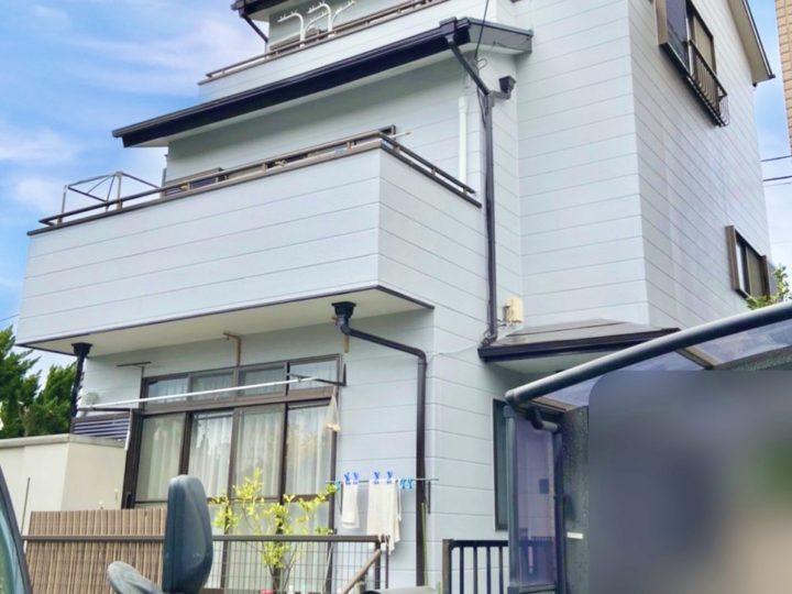 茅ヶ崎市 T様邸 屋根・外壁塗装工事