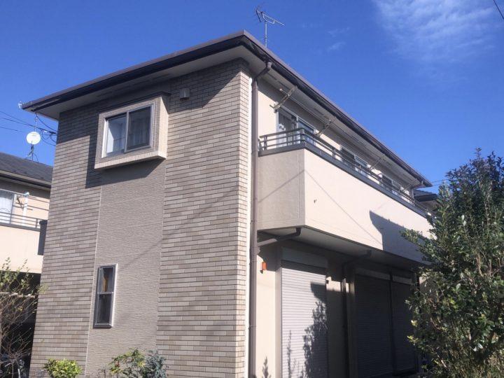 小平市 O様邸 屋根・外壁塗装工事