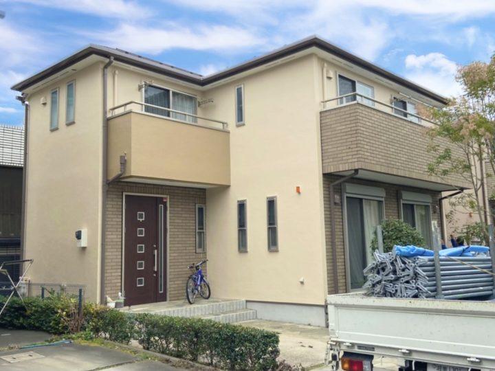 小平市 M様邸 屋根・外壁塗装工事