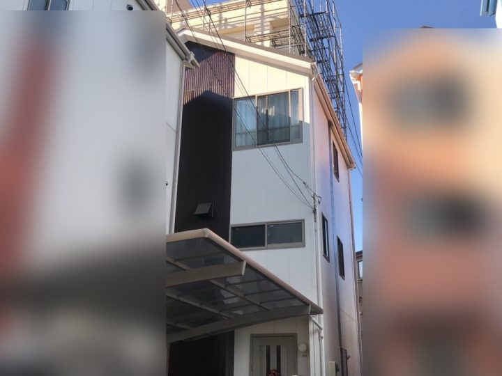 北区 Y様邸 外壁塗装・屋根カバー工事