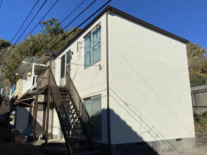三浦市 K様アパート 外壁塗装・屋根葺き替え工事