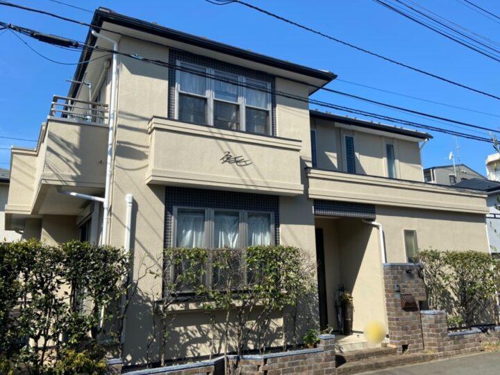 小平市 K様邸 屋根・外壁塗装工事