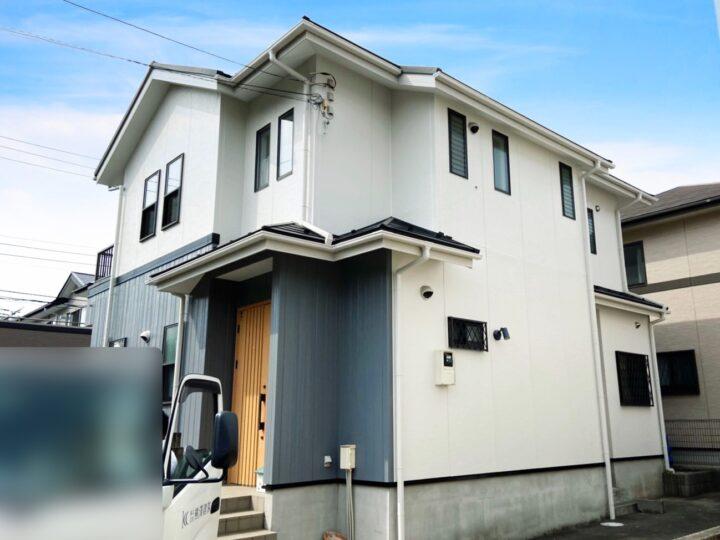 綾瀬市 H様邸 外壁塗装・屋根カバー工事