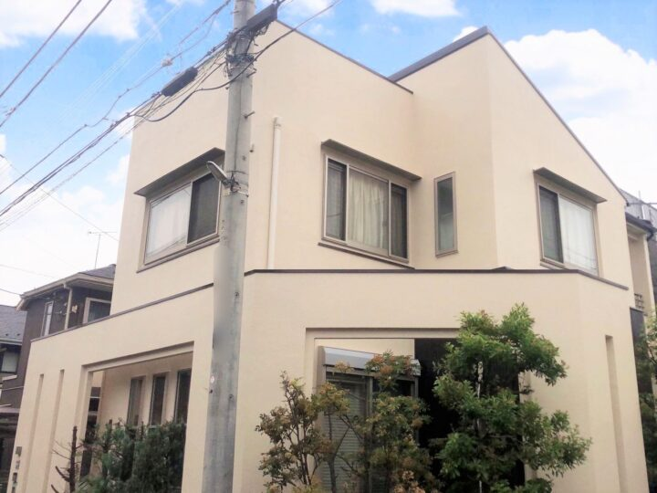 西東京市 S様邸 屋根・外壁塗装工事