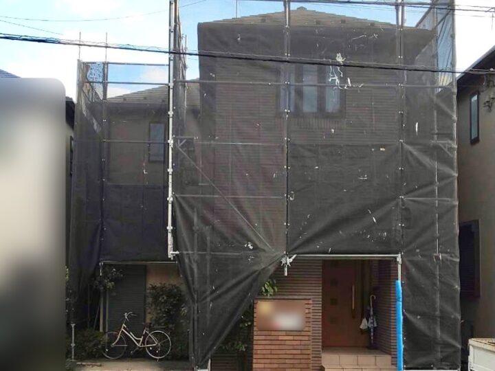 【施工中】横浜市瀬谷区 H様邸 屋根・外壁塗装工事