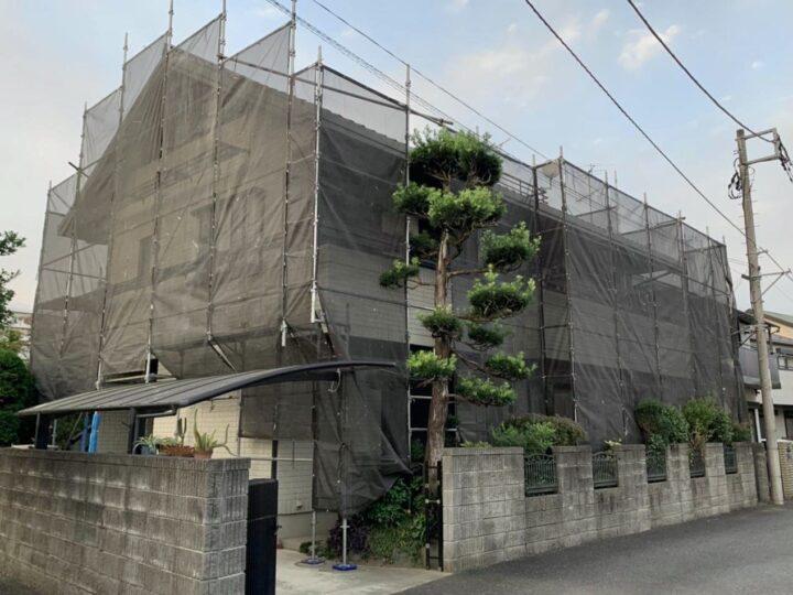 【施工中】海老名市 T様邸 外壁塗装工事